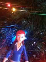 Gwen with Glowing Eyes Action Figure 2 by Finny-KunGoddess