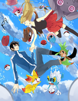 Pokemon XY by 0w0b