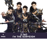 Z.Tao I'm the Sorveign PNG Pack by Bears-and-Cookies