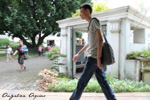 To Tall To Walk and Talk by Angelica-Aquino