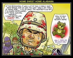 HOME SWEET HOME ALABAMA by glogauer