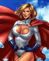 Power Girl by Salamandra88