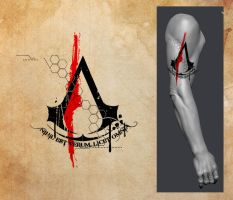 Tattoo - Assassins Creed by zeymar