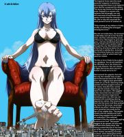 Giantess Esdeath by haloichigo