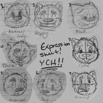 YCH Expression Sheet by shadow6558