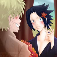 SasuNaru - It suits you. [1st place] by deathgenebunny