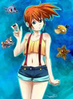 Misty Fanart by Archiri