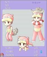 PKMN - Slowpoke Evolution