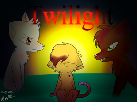 Twilight Cats by P00NIS-IS-LOVE