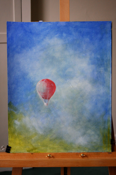 A Red Balloon by fire-fish