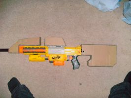 Halo Assault rifle build by ShadowedAvatar