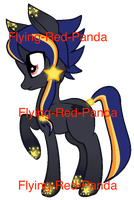 Song Pony Adopt - Counting Stars [CLOSED] by Flying-Red-Panda