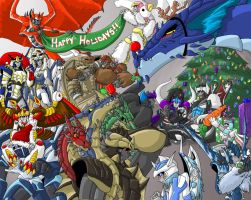 Happy -Early- Holidays by Autobot-Windracer