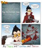 GGguys 83 No More Heroes 2 by SupaCrikeyDave