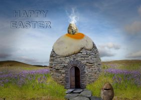 Easter Wishes 2015 by cazcastalla