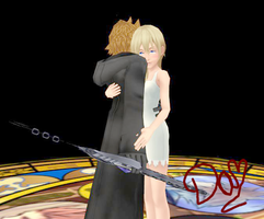 Roxas And Namine- MMD by danit09182