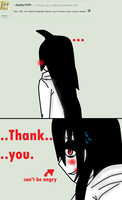 Ask Jeff The Killer-Question 50-17. by MikaelBratLoni