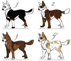 Canine Adoptables: Closed by smudge-92