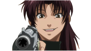 Revy ~ Two Hands - Black Lagoon [RENDER] by Kirika88