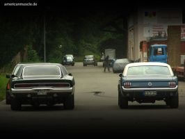mopar vs. ford by AmericanMuscle