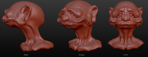 Old Man Sculpt by SEspider