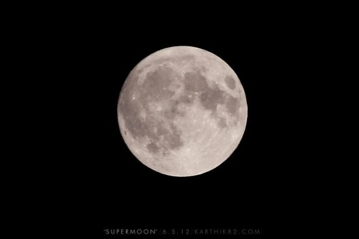 Supermoon by karthik82