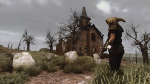 Fallout 3 New Vegas: Church by DCGameStream