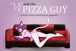 Vi and the Pizza Guy by HunterLaWolf