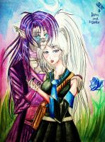 AT Deon and Ryoko by Neo-CriminalBlueRose