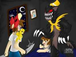 (FNAF4) A true Nightmare + Thanks for 200+ views! by AnimatedGamer890