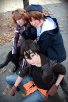 Weiss Kreuz - Yohji, Omi and Ken by RoteMamba