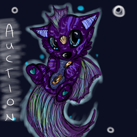 Fish themed chibi dog AUCTION CLOSED by starbars