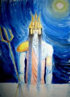 Poseidon watches over by neuronboy42