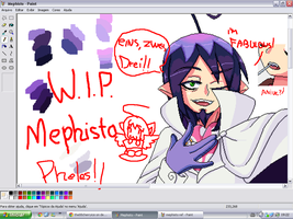 W.I.P. - Mephisto Pheles in Pixels by the88cherryice