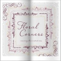 Floral Corners Brush Set by Romenig