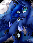 MLP: Relaxing Luna by Mychelle