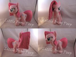 MLP Pinkamena Plush (commission) by Little-Broy-Peep