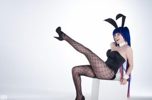 Bunny Stocking by JanvierCosplay