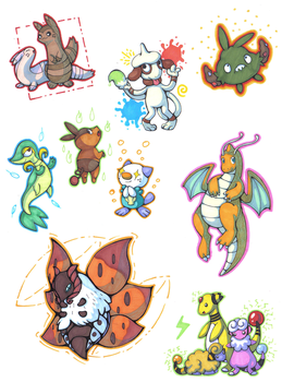 Pokemon Request things by BakaMichi