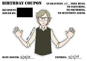 free hugs coupon - Marlowe by cesca-specs