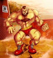 ZANGIEF by mezaih