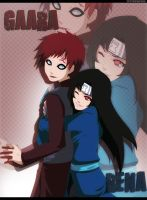 Commission: Gaara and Rena by annria2002