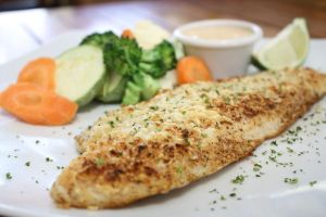 Crusted Parmesan Fish by snok-daffy