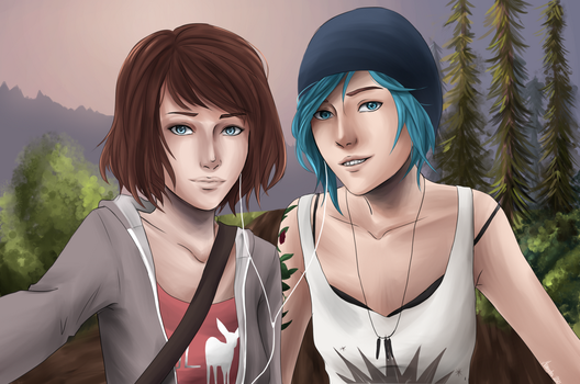 Life is Strange by Maneodra