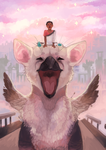 THE LAST GUARDIAN by SuperSilvane
