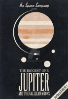 The Space Company: Jupiter Poster by rgperez