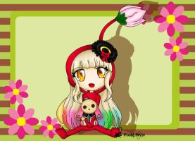 Little Pikmin Mayu by Hoshi-Wolfgang-Hime