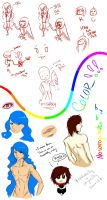 .:Attempted Sketchdump:. by EternallyEthereal