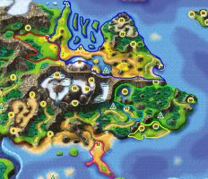 Weyard map with Countries by Soulsilver1056