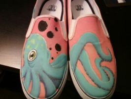 Octopus Shoes by K12RES